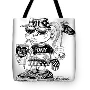 9/11 Commercialization Tote Bag
