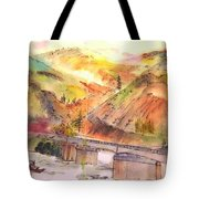 A Trip To Lewiston  In Autumn Album Tote Bag
