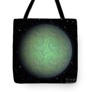 Abstract Planet Tote Bag