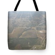 An Aerial View Of Fort Myers Tote Bag