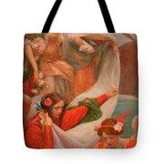 Angels Descending Tote Bag
