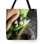 Asian Massage Spa Natural Organic Beauty Treatment Tote Bag