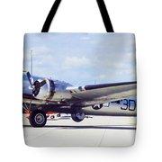 B-17 Bomber Parking Tote Bag