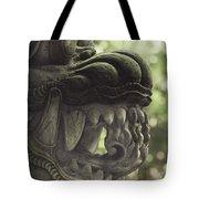 Bali Sculpture Tote Bag