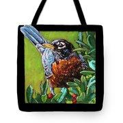 Birdman Of Alcatraz Detail Tote Bag