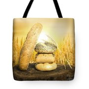 Bread And Wheat Cereal Crops. Tote Bag by Deyan Georgiev