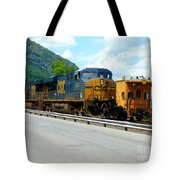 Csx Train  Tote Bag