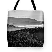 Early Morning On Blue Ridge Parkway Tote Bag