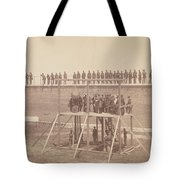 Execution Of The Conspirators Tote Bag