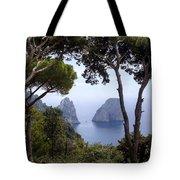 Faraglioni - Capri Tote Bag