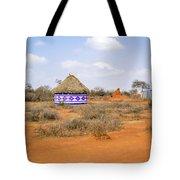 Farmland Landscape In Ethiopia Tote Bag
