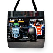 Formula 1 Monaco Grand Prix 2016 Tote Bag