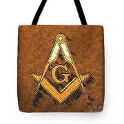 Freemason, Mason, Masonic Symbolism Tote Bag