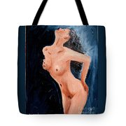 Girl Nude Tote Bag
