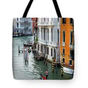 Gondola, Canals Of Venice, Italy Tote Bag
