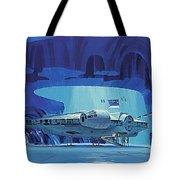Imperial Star Wars Poster Tote Bag