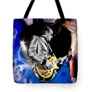 Joe Bonamassa Blues Guitarist Art Tote Bag