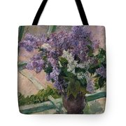 Lilacs In A Window Tote Bag