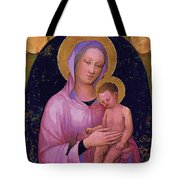 Mary And Child Art Tote Bag