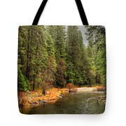 Merced River Yosemite Valley Tote Bag
