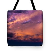 Nebraska Hp Supercell Sunset Tote Bag
