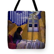 9 Of Swords Tote Bag