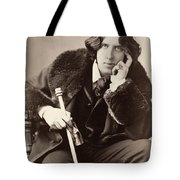 Oscar Wilde (1854-1900) Tote Bag by Granger