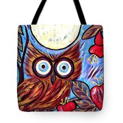 Owl Midnight Tote Bag