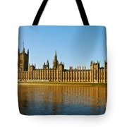 Palace Of Westminster, Houses Of Parliament, And Big Ben Tote Bag