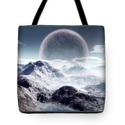 Planet Rise Tote Bag