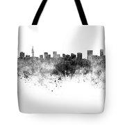 Pretoria Skyline In Watercolor Background Tote Bag