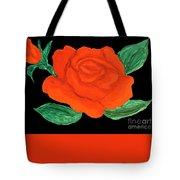 Red Rose, Painting Tote Bag