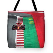 Sebastian Vettel Ferrari  Tote Bag