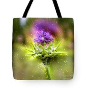 Silybum Eburneum Milk Thistle Tote Bag