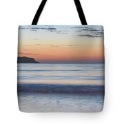 Soft Sunrise Seascape Tote Bag