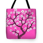 Spring Tree In Blossom, Painting Tote Bag