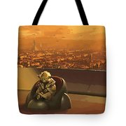 Star Wars Old Poster Tote Bag