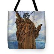 Statue Of Liberty 1886 Tote Bag