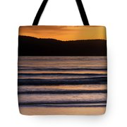 Sunrise Seascape And Headland Tote Bag