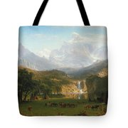 The Rocky Mountains Tote Bag