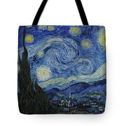 The Starry Night Tote Bag