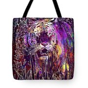 Tiger Predator Fur Beautiful  Tote Bag