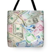 Travel Money - World Economy Tote Bag