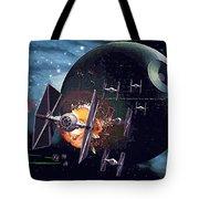 Trilogy Star Wars Art Tote Bag