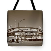 Wrigley Field - Chicago Cubs Tote Bag