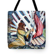 911 Cries For Jesus Tote Bag