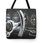 911 Porsche Dash Tote Bag