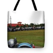 911 Ride Line Up Tote Bag