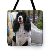 #940 D1034 Farmer Browns Springer Spaniel Tote Bag