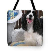 #940 D1036 Farmer Browns Springer Spaniel Happy For You Have A Happy Day Tote Bag